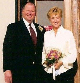 Debbie Papay and her husband.